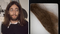 John Lennon's Locks -- Sold For $35k