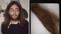 John Lennon's Locks -- Sold For $35k
