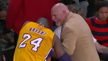 Kobe Bryant -- Pop Goes My Finger ... Dislocates Digit Mid-Game (VIDEO)
