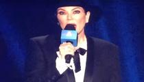 Kris Jenner -- BOOOOOOOOOOD at iHeart 80's Concert