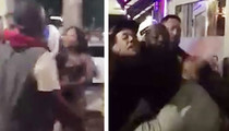 Trina Fight Video -- I Tried to Be Peacemaker Until a Guy Hit ME (VIDEO)