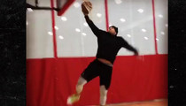 J.J. Watt -- White Men CAN Dunk ... After Groin Surgery (VIDEO)