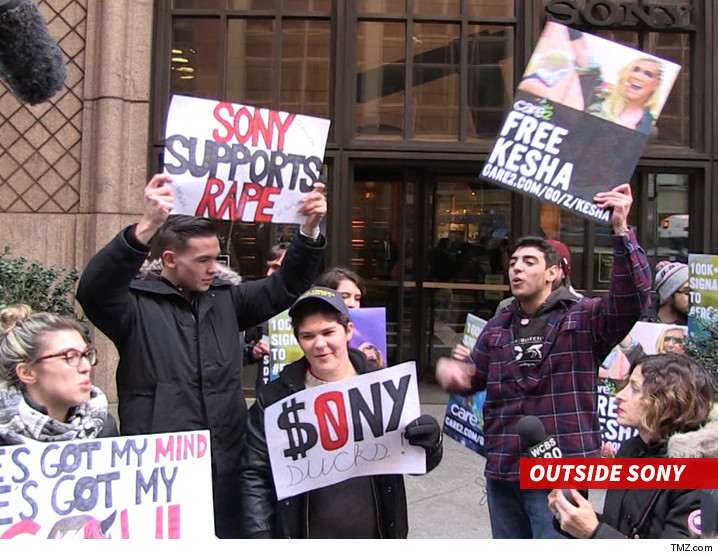 0226-kesha-protesters-outside-sony-TMZ-01