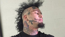 Stitches -- Celeb Tattoo Artist Rejects Rapper ... He's Full of Garbage!
