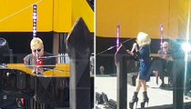 Elton John & Lady Gaga -- Shut Down The Sunset Strip For Free Show