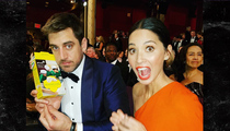 Aaron Rodgers -- Buys Worst Girl Scout Cookies at Oscars