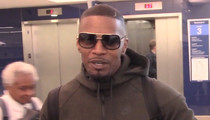 Jamie Foxx on Oscars -- Black People DID Win ... Leo DiCaprio's One of Us! (VIDEO)