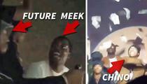 Meek Mill -- Strip Club Ballin' for Last Night of Freedom (VIDEO)