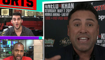 Oscar De La Hoya -- Trump Is Trying to Get Hillary Elected (Video)