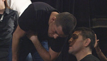 Nick Diaz at UFC Presser -- Warned Nate ... I'll Beat Conor's Ass If He Touches You