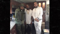 Kanye, French & Nas -- New Yeezy Alert (PHOTO)