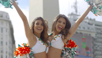 Miami Dolphins -- Combing Argentina for New Cheerleaders (VIDEO)