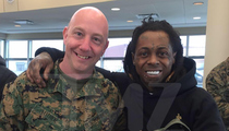 Lil Wayne -- Military Seal of Approval (PHOTO)