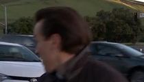 News Reporter Dodges Frightening Car Crash ... During Live Shot!!!