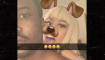 Nicki Minaj and Meek Mill -- We Got Puppy Love ... Even Under House Arrest (PHOTO)