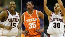 NBA Stars Before They Went Pro -- Happy March Madness!