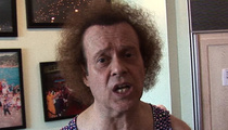 Richard Simmons -- Cops Visit Home After Elder Abuse Claim ... And He's Fine
