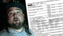 Chumlee from 'Pawn Stars' -- House Filled with Marijuana, Guns ... and Signs of Cocaine