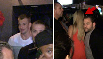 Rob Gronkowski -- Hits Hollywood Club ... Leaves with Hot Blonde (VIDEO)