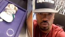 Ray J -- Jewelry Haul May Explain Armed Guard (VIDEO)