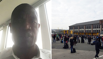 Dikembe Mutombo -- At Brussels Airport During Attack ... 'I Am Fine'