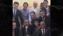 President Obama, Daymond John Strike Badass Pose (PHOTO)
