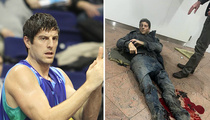 Brussels Terror Attack -- Pro Basketball Player Injured ... Emergency Leg Surgery