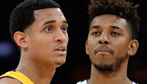 L.A. Lakers -- 'We Believe Nick & Jordan' ... In Alleged Sexual Harassment Incident