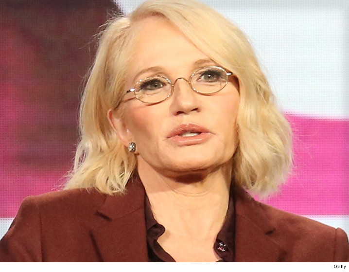ellen barkin chokes on lunch rushed to hospital tmzcom