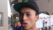 Pro Skater Nyjah Huston -- Party's Over ... Punished Over Late Night Ragers