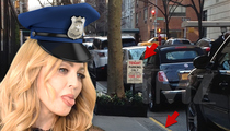 Madonna -- Busted For Posting Fake Signs to Hoard NYC Parking Spaces