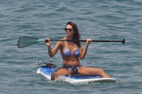 Wet Jessica Bikini Alba