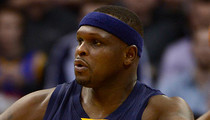 NBA's Zach Randolph -- Accused of Beating Up Woman ... Strongly Denies Allegations