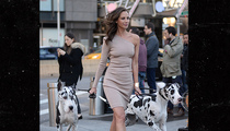 Christy Turlington -- Great Dane ... She's Still Got It! (PHOTO)