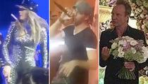 J Lo, Enrique & Sting -- Greatest Wedding Band Ever! Russian Billionaire Foots Bill