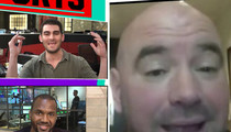 Dana White -- Ronda Rousey's a Killer Again ... Will Fight This Year (VIDEO)