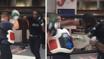 Jon Jones -- Unleashing the Fury ... Hours After Release from Jail (VIDEO)