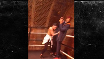 Will Smith -- Rope-a-Dopin' with Female Boxing Champ (VIDEO)