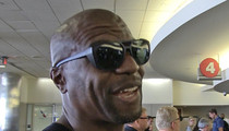 Terry Crews -- Yeah, Shaq Dunked On Me ... AND I WAS HONORED (VIDEO)