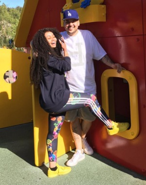 Rob Kardashian and Blac Chyna -- The Happy Couple