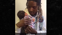Fetty Wap -- Beaming With Pride At Baby Khari's 1st Doctor Visit (VIDEO)