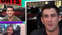 UFC's Dominick Cruz -- Urijah Faber's Chin Looks Like a Butt (VIDEO)