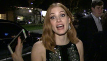 Jessica Chastain -- Kurt Busch Is Wrong ... Ex-GF Was NOT Real 'Zero Dark Thirty' Hero (VIDEO)