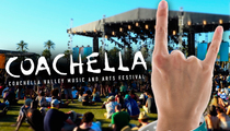 Coachella -- Resell Our Backstage Passes ... Get Sued!