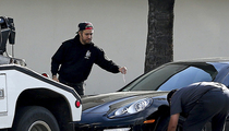 Pete Wentz -- No Special Treatment in Tow Truck Caper