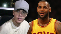 LeBron Vs. Bieber -- War Over Arena ... Concert Booked Same Day As Playoff Game