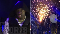 NBA's Draymond Green -- 73 Reasons To Turn Up ... Parties Hard After Record Victory (VIDEO)