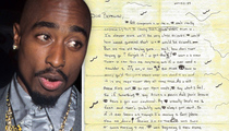 Tupac -- High School Don Juan ... Love Letter Surfaces (PHOTOS)