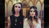 Andy Biersack and Juliet Simms -- Secret Marriage