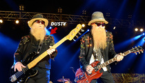 ZZ Top's Dusty Hill -- Busts Shoulder ... Show Does NOT Go On (VIDEO)